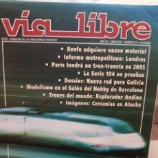 Trenes Escala: REVISTA VÍA LIBRE N°471 ENERO 2004. Lote 232699970