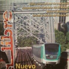 Trenes Escala: REVISTA VÍA LIBRE N°594 MARZO 2015. Lote 232700447