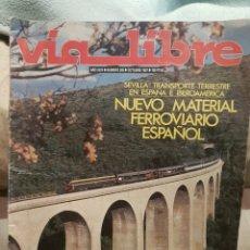Trenes Escala: REVISTA VÍA LIBRE N°285 OCTUBRE 1987. Lote 232700705