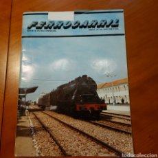 Trenes Escala: REVISTA FERROCARRIL NÚM 10 AÑO 1981 TRENES ELÉCTRICOS CARRILETS CARRILET. Lote 232738715