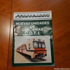 Trenes Escala: REVISTA FERROCARRIL NÚM 13 AÑO 1982 TRENES ELÉCTRICOS. CDTI . CARILLETS. Lote 232739765