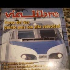 Trenes Escala: REVISTA VÍA LIBRE 473 MARZO 2004. Lote 233178215