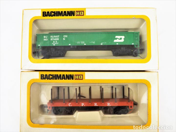 Trenes Escala: Bachmann Conjunto de tres vagones H0 - Foto 2 - 233245860