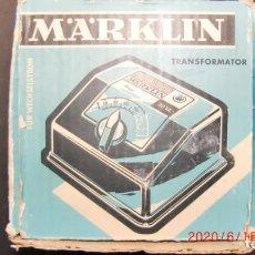 Trenes Escala: TRANSFORMADOR MARKLIN 6115- 125 VOLT-NUEVO. Lote 233962600