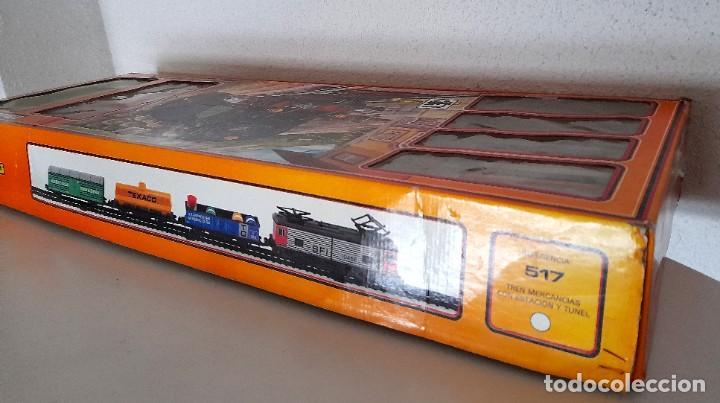 Trenes Escala: Tren Pequetren Viajeros Estación Túnel Ref 516 Fabricado España Seinsa Caja Original a pilas - Foto 8 - 234004105