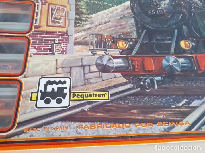 Trenes Escala: Tren Pequetren Viajeros Estación Túnel Ref 516 Fabricado España Seinsa Caja Original a pilas - Foto 10 - 234004105