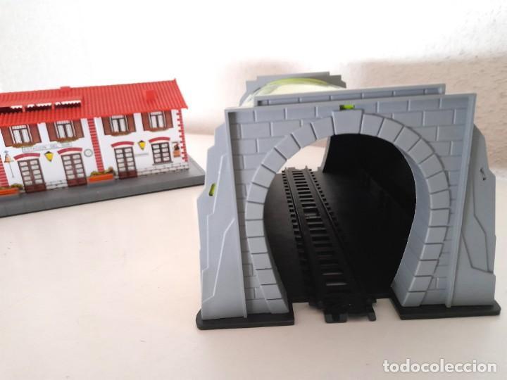 Trenes Escala: Tren Pequetren Viajeros Estación Túnel Ref 516 Fabricado España Seinsa Caja Original a pilas - Foto 13 - 234004105