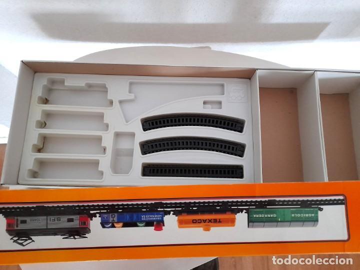Trenes Escala: Tren Pequetren Viajeros Estación Túnel Ref 516 Fabricado España Seinsa Caja Original a pilas - Foto 16 - 234004105