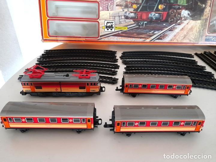 Trenes Escala: Tren Pequetren Viajeros Estación Túnel Ref 516 Fabricado España Seinsa Caja Original a pilas - Foto 21 - 234004105