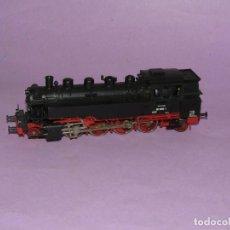 Trenes Escala: LOCOMOTORA TENDER LOCOTENDER EN ESCALA *H0* CORRIENTE CONTINUA. Lote 234542805