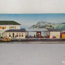 Trenes Escala: FALLER B-109. NUEVO, SIN MONTAR. 1° MODELO PARTES DE MADERA.. Lote 234642165