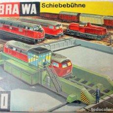Trains Échelle: BRAWA 1180: PLATAFORMA PARA TRANSFERENCIA ENTRE VIAS – ESCALA HO – CAJA ORIGINAL. Lote 235002095