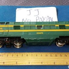 Trenes Escala: LOCOMOTORA H0 JOUEF RENFE 4002 NO PROBADO EN EL ESTADO Q SE VE EN LAS FOTOS MADE IRELAND. Lote 235223655