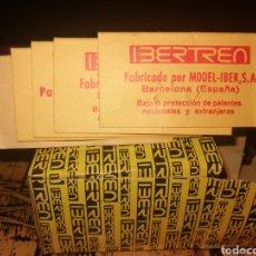 Trenes Escala: 2 CAJAS VACIAS MAS CARTONES IBERTREN. Lote 235517585
