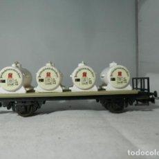 Trenes Escala: VAGÓN SILO ESCALA HO DE LILIPUT. Lote 235850090