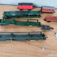 Trenes Escala: VAGONES Y CARRILES EN MINIATURA DE IBERTREN. Lote 236334090