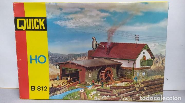 QUICK B 812 NUEVO, SIN MONTAR. MOTORIZADO (Juguetes - Trenes Escala H0 - Otros Trenes Escala H0)
