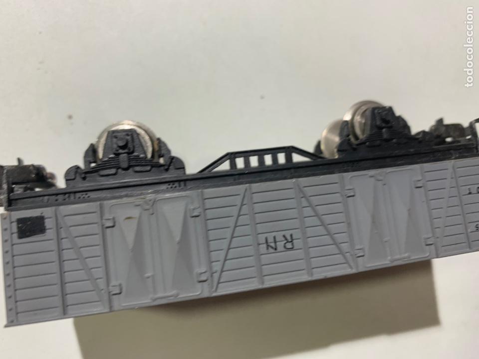 Trenes Escala: Vagón de mercancías para tren eléctrico escala H0 r.n. 1505 - Foto 3 - 236866270