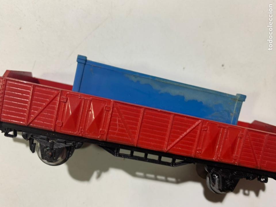 Trenes Escala: Vagón de mercancías container escala H0 para tren eléctrico jyesa - Foto 3 - 236869820