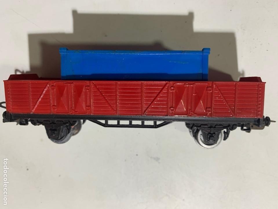 Trenes Escala: Vagón de mercancías container escala H0 para tren eléctrico jyesa - Foto 3 - 236870020