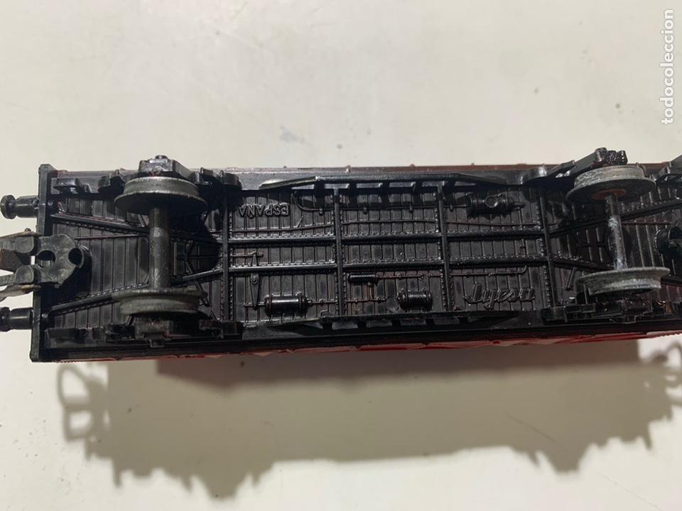 Trenes Escala: Vagón de mercancías container escala H0 para tren eléctrico jyesa - Foto 4 - 236870020