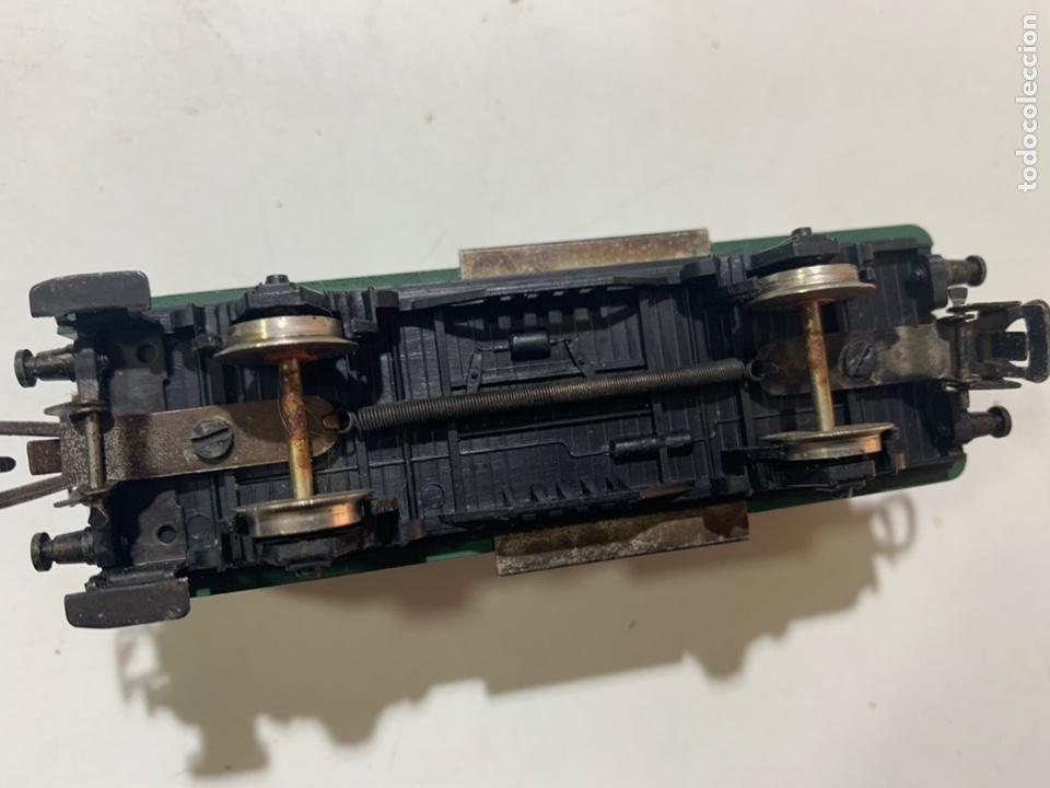 Trenes Escala: Vagón de mercancias para tren eléctrico Renfe escala H0 1603 jyesa - Foto 4 - 236878125