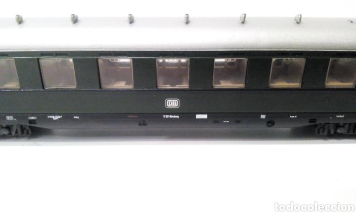 Trenes Escala: JIFFY VENDE VAGÓN DE PASAJEROS LILIPUT H0 DB. MIDE 24 CM SIN CONTAR ENGANCHES. - Foto 4 - 236895175