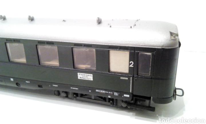 Trenes Escala: JIFFY VENDE VAGÓN DE PASAJEROS LILIPUT H0 DB. MIDE 24 CM SIN CONTAR ENGANCHES. - Foto 5 - 236895175