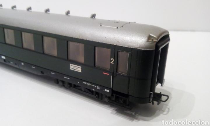 Trenes Escala: JIFFY VENDE VAGÓN DE PASAJEROS LILIPUT H0 DB. MIDE 24 CM SIN CONTAR ENGANCHES. - Foto 8 - 236895175