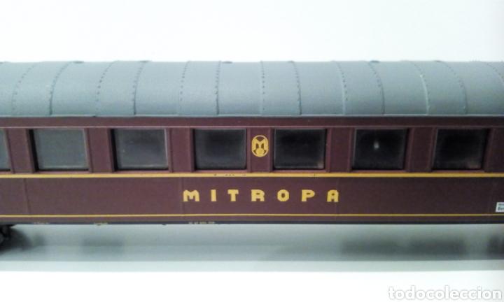 Trenes Escala: JIFFY VENDE VAGÓN H0 JOUEF MITROPA. MIDE 26 CM ENTRE TOPES. - Foto 3 - 236897835