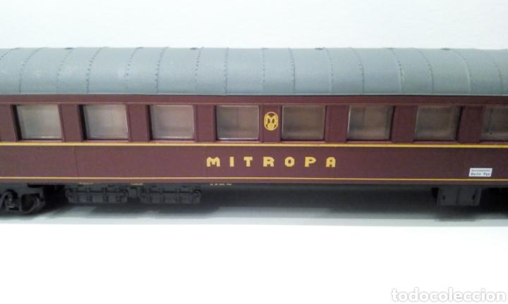 Trenes Escala: JIFFY VENDE VAGÓN H0 JOUEF MITROPA. MIDE 26 CM ENTRE TOPES. - Foto 8 - 236897835