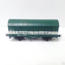 Trenes Escala: JIFFY VENDE VAGÓN DE LA DB LULIPUT H0. CERVEZA JEVER PILSENER FRIESISCH-HERB. VAGÓN CERVECERO. REFJ1. Lote 236909685