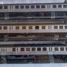 Trenes Escala: ROWA H0, LOTE DE 3 COCHES PASAJEROS. EN CAJA ORIGINAL CON PRECINTOS. VÁLIDO IBERTREN,ROCO,ETC. Lote 236976150