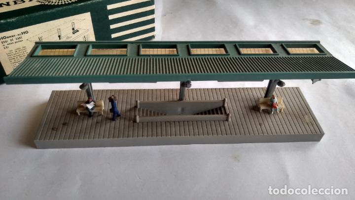 Trenes Escala: HORNBY H0, ANDEN CUBIERTO, EN CAJA ORIGINAL.VÁLIDO IBERTREN,ROCO,MARKLIN,ETC - Foto 2 - 236987795