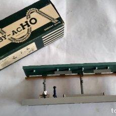 Trenes Escala: HORNBY H0, ANDEN CUBIERTO, EN CAJA ORIGINAL.VÁLIDO IBERTREN,ROCO,MARKLIN,ETC. Lote 236987795