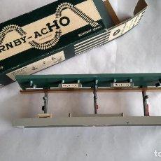 Trenes Escala: HORNBY H0, ANDEN CUBIERTO, EN CAJA ORIGINAL.VÁLIDO IBERTREN,ROCO,MARKLIN,ETC. Lote 236987890