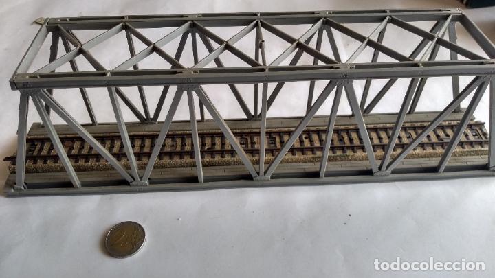 Trenes Escala: PUENTE H0, .VÁLIDO IBERTREN,ROCO,MARKLIN,ETC - Foto 2 - 236988805