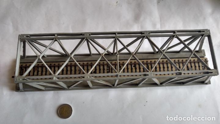 Trenes Escala: PUENTE H0, .VÁLIDO IBERTREN,ROCO,MARKLIN,ETC - Foto 3 - 236988805