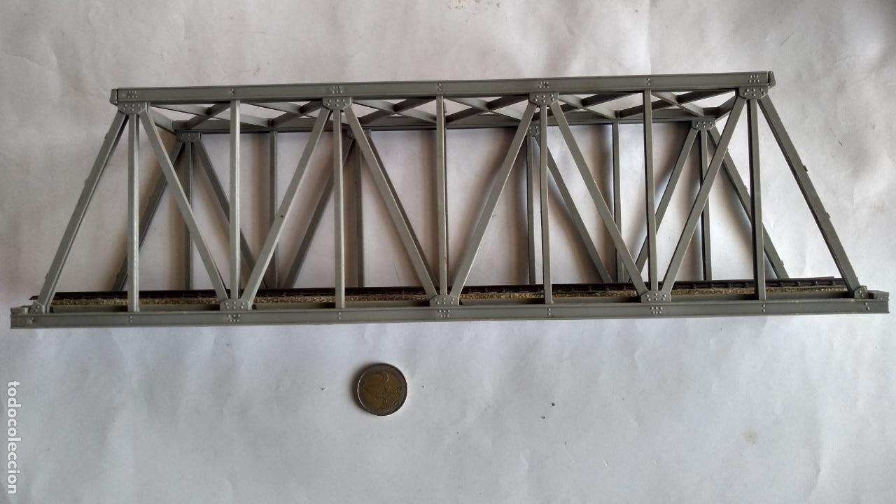 Trenes Escala: PUENTE H0, .VÁLIDO IBERTREN,ROCO,MARKLIN,ETC - Foto 4 - 236988805