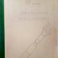 Trenes Escala: FERROCARRILES. FEVE. TIPOS DE TRANSMISIONES. Lote 236988890