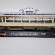 Trenes Escala: TRANVÍA HECHTE (LUCIO), DRESDEN 1930 1/87. Lote 236992570