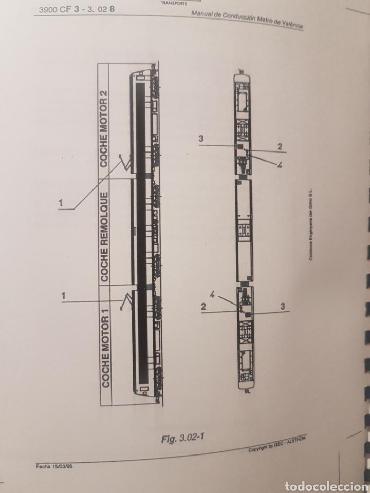 Trenes Escala: Ferrocarriles. FGV. Manual conductor serie 3900 de Alsthom - Foto 3 - 236994635