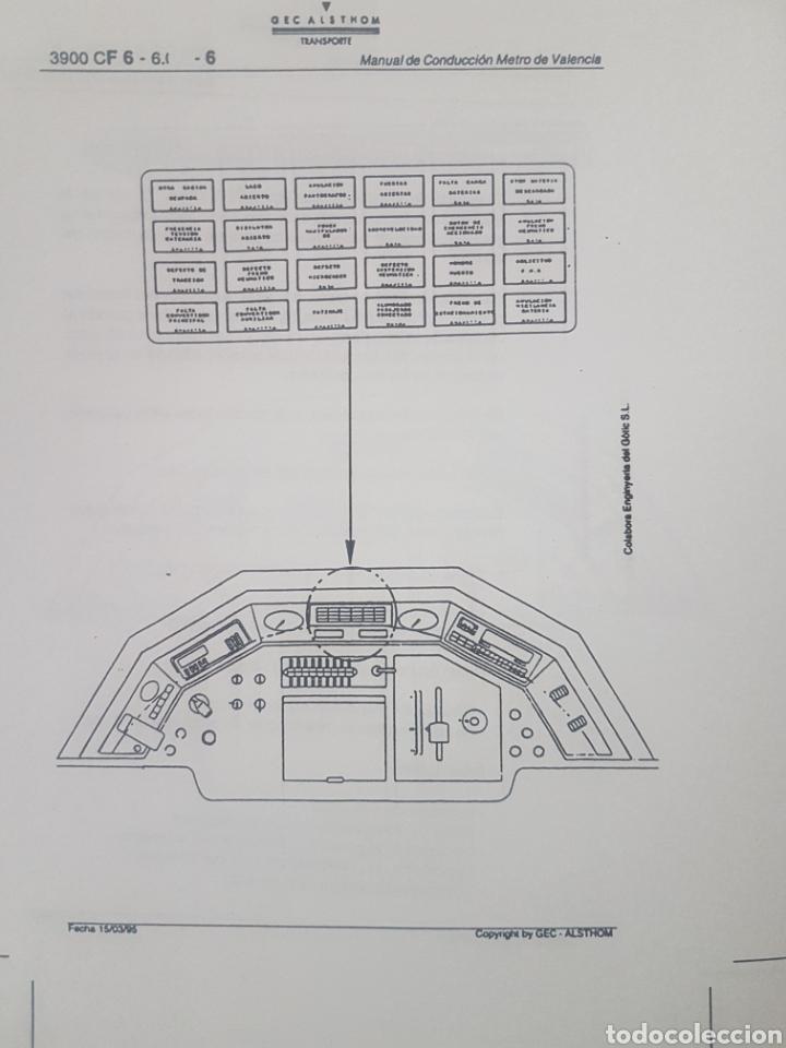 Trenes Escala: Ferrocarriles. FGV. Manual conductor serie 3900 de Alsthom - Foto 6 - 236994635