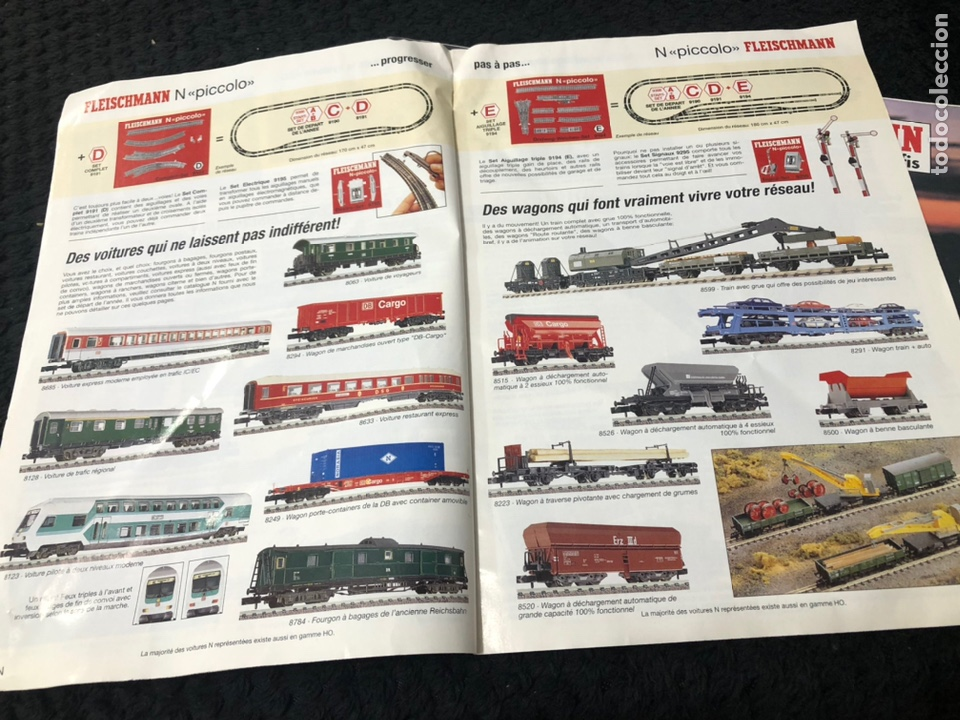 Trenes Escala: Catálogos 97-98-99 Fleischmann Iberten - Foto 4 - 237024910