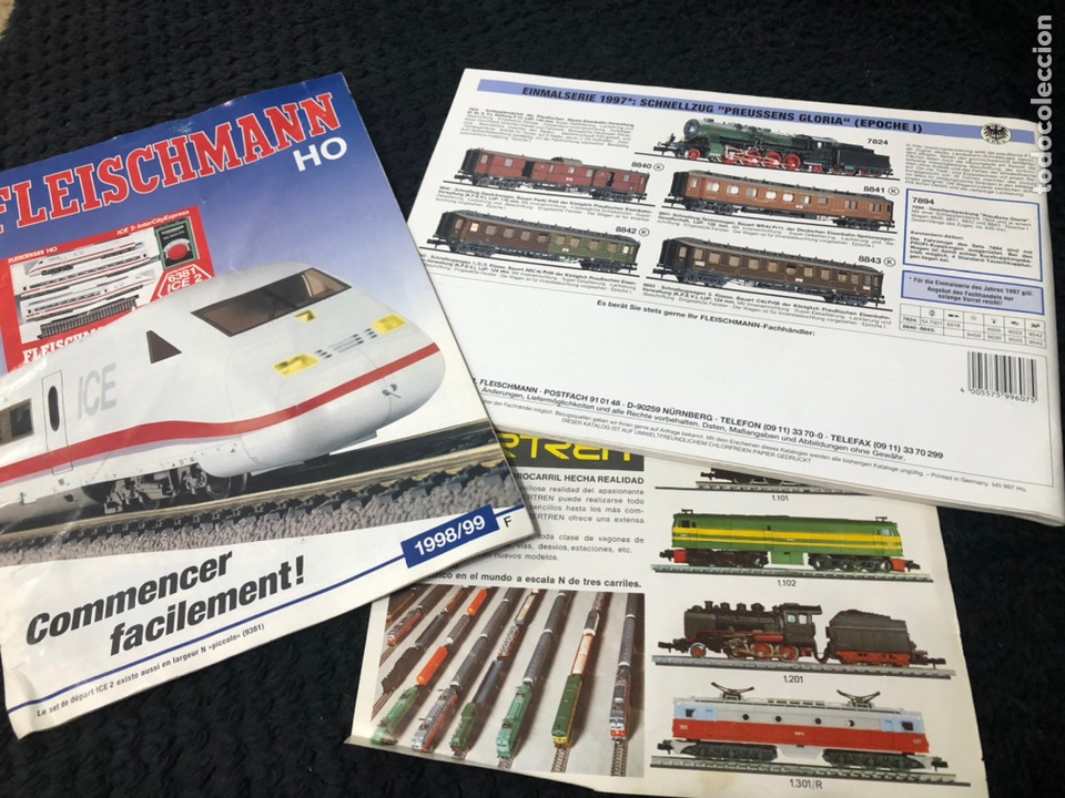 Trenes Escala: Catálogos 97-98-99 Fleischmann Iberten - Foto 5 - 237024910