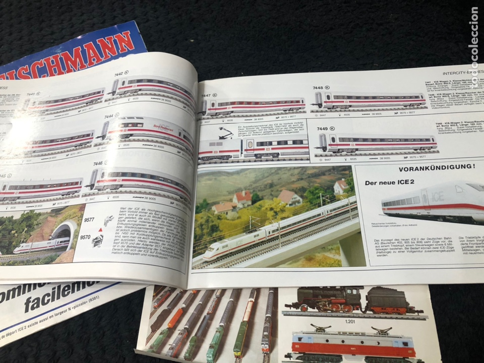 Trenes Escala: Catálogos 97-98-99 Fleischmann Iberten - Foto 6 - 237024910