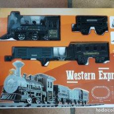 Trenes Escala: TREN WESTERN EXPRESS DISTRIBUIDO POR JUGUETES PASTOR ALICANTE. Lote 237617080