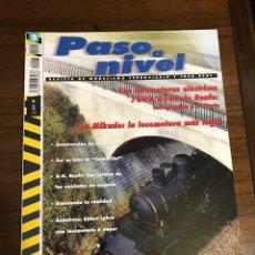 Trenes Escala: REVISTA PASO A NIVEL, NÚMERO 2. Lote 237760510