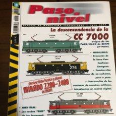 Trenes Escala: REVISTA PASO A NIVEL, NÚMERO 3. Lote 237760775