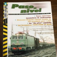 Trenes Escala: REVISTA PASO A NIVEL, NÚMERO 4. Lote 237761025